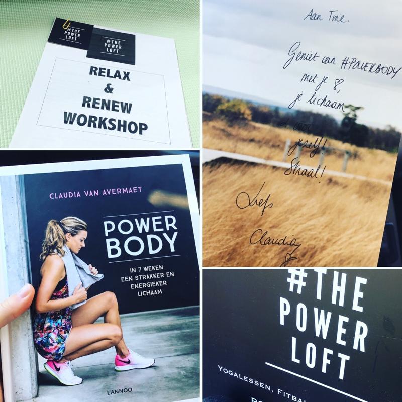 workshop relax & renew yoga