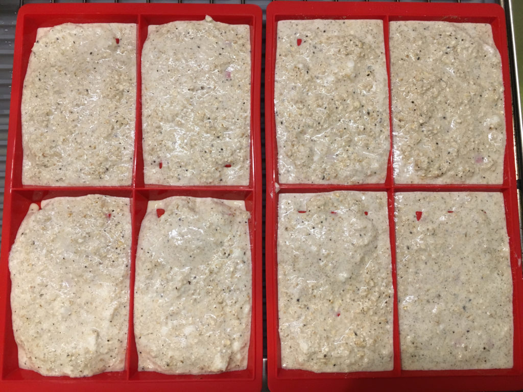 vanillewafels sandra bekkari in de Lékué wafelvormen