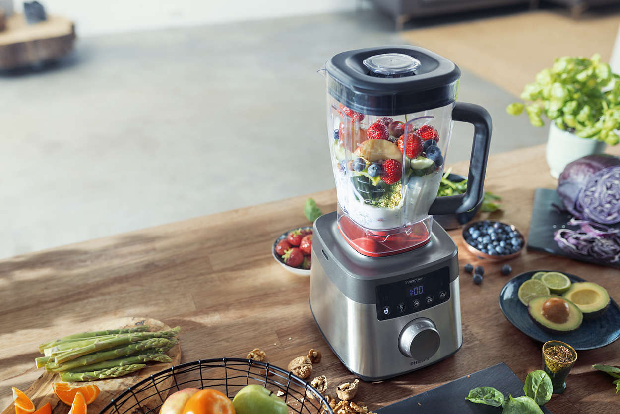 review hogesnelheidsblender / highspeed powerblender philips HR3865/00