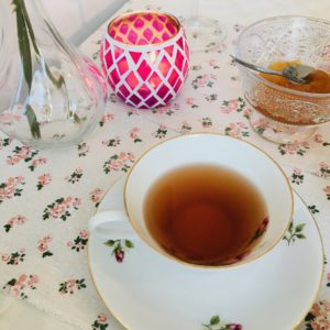 afternoon tea halloween chai