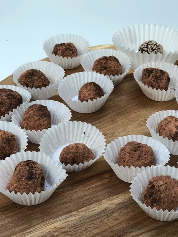 chocoladetruffels claudia van avermaet