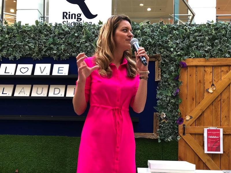Claudia van Avermaet - lezing fit'n fabulous week ringshopping kuurne