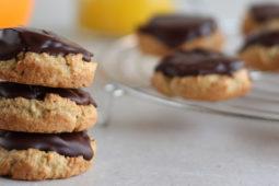 Gezonde pim's, pim koekjes of jaffa cakes