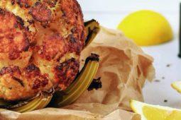 Geroosterde bloemkool van Ottolenghi uit het kookboek Simpel