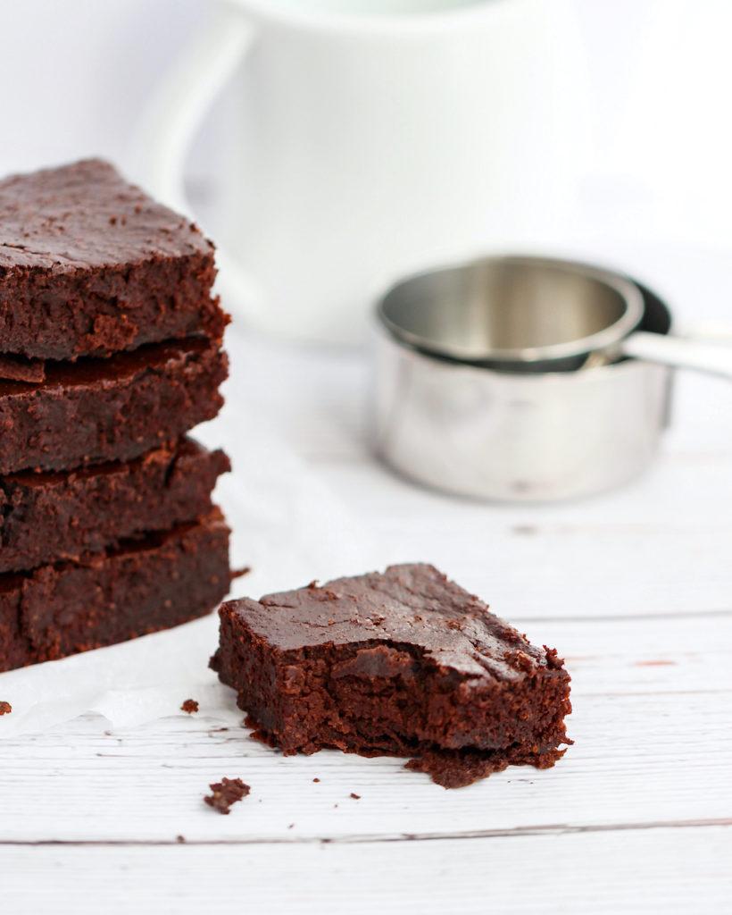 gezondere chocolade brownie