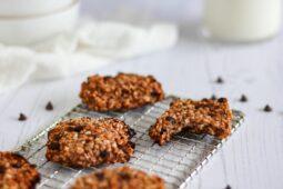 Super eenvoudige Rabarber-havermoutkoekjes – recept