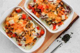 Vispannetje met groentensaus – Recept