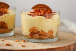 Appeltaart in een glaasje – lichte versie van appeltaart – Recept
